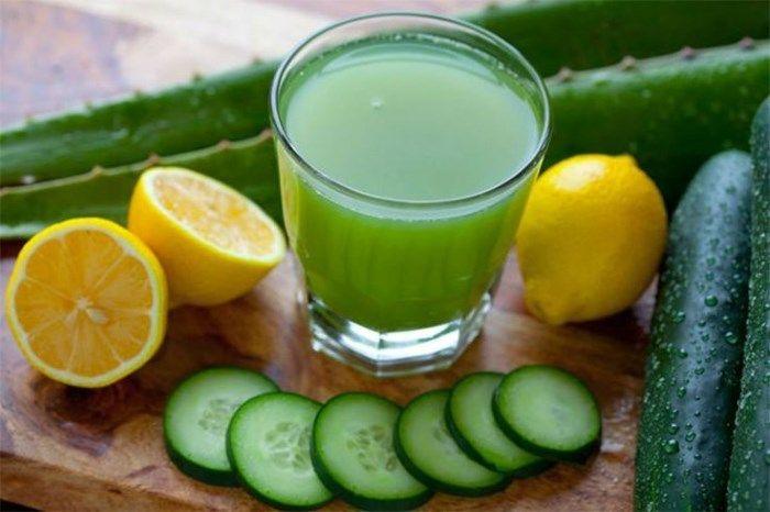 a természetes gyümölcslevek méregtelenítése