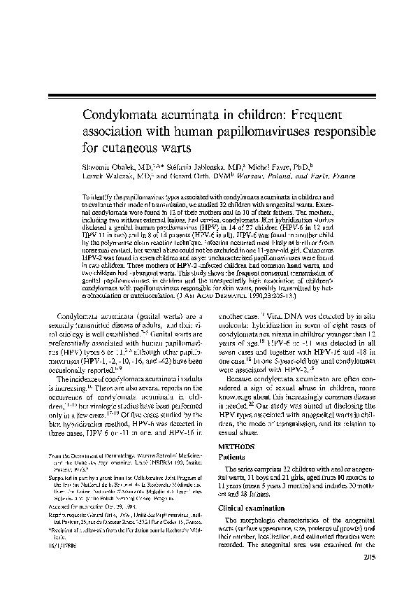 Perianalis régió condyloma acuminatum, Belgyógyászati diagnosztika | Digitális Tankönyvtár