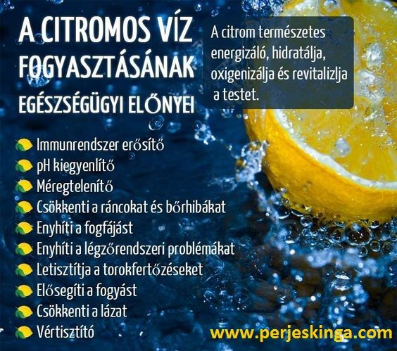 Szimpatika – Fogyás és méregtelenítés citromlével