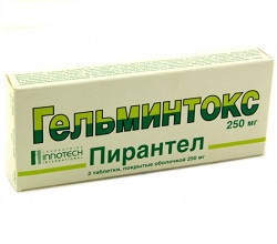 helmintox pirantel