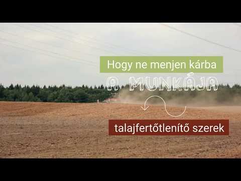 talajfertőtlenítő férgek